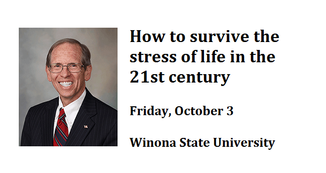 How to survive the stress of life in the 21st century