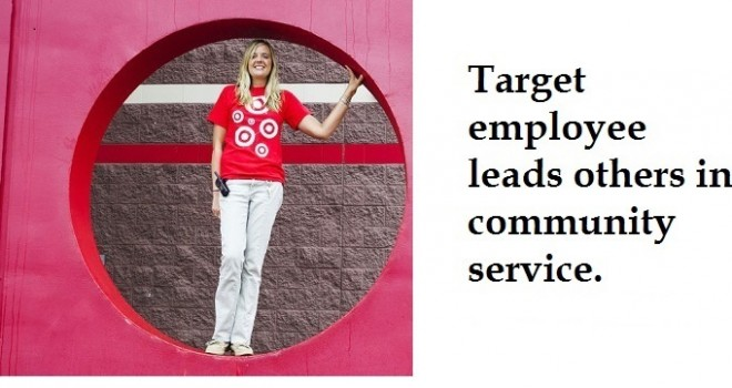 Winona Target employee leads others in community service (Winona Daily News)
