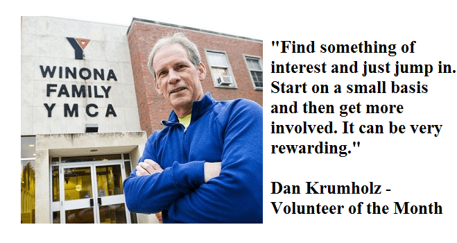 Volunteer of the Month: Winona man finds new passion