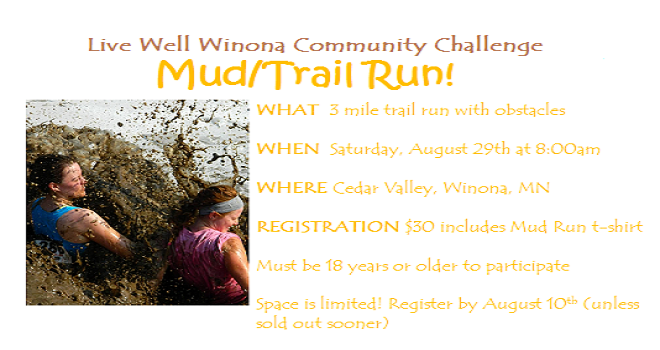 3rd Annual Mud/Trail Run – Registration NOW OPEN!