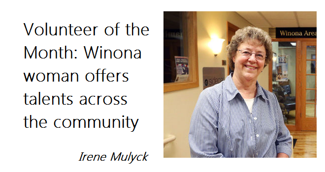 Volunteer of the Month: Winona woman offers talents across the community