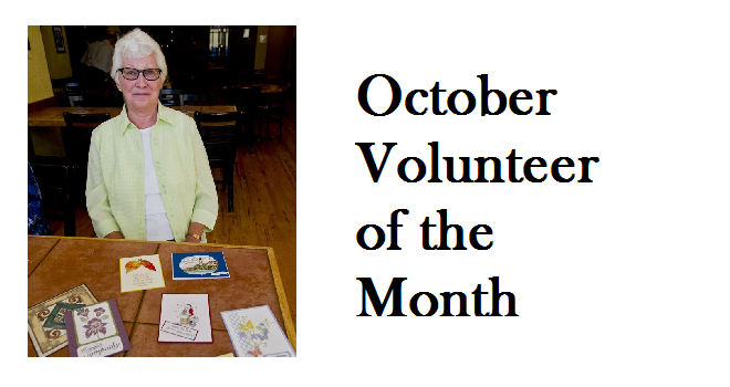 "Volunteer of the Month – ""Friends, cards and a cause"""