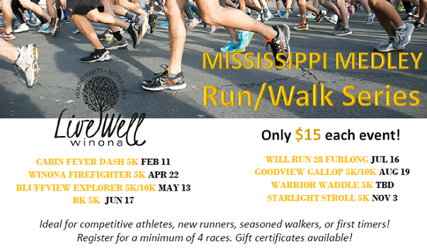 Mississippi Medley Run/Walk Series