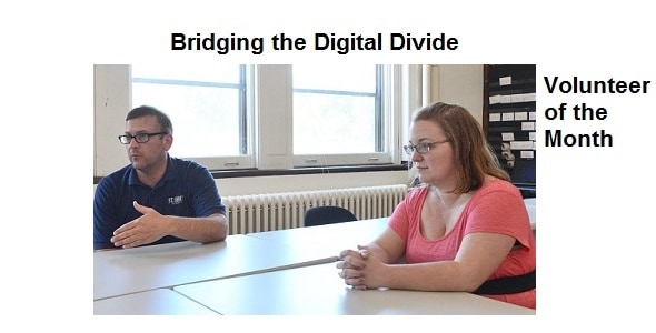 June Volunteer of the Month – Bridging a Digital Divide