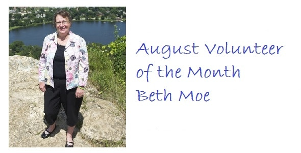 Born to help: For Beth Forkner Moe, volunteering is a way of life