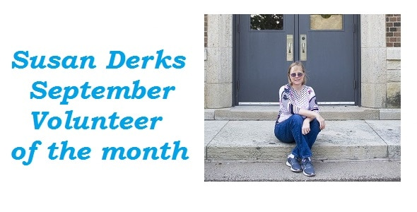September Volunteer of the Month: Encouraging others to volunteer