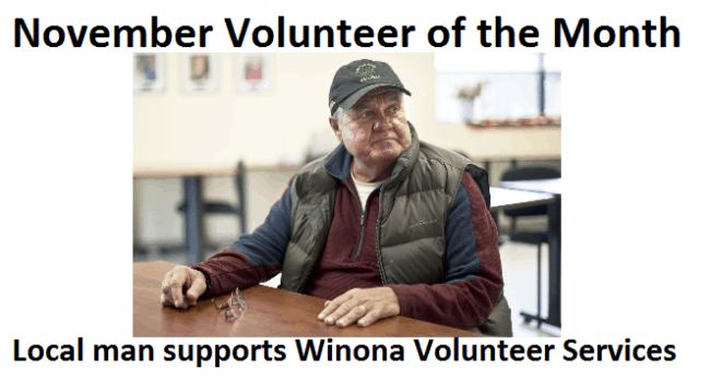 November Volunteer of the Month: Local Man Supports Winona Volunteer Services