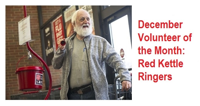 Volunteer of the Month: Red Kettle Campaign is 'such a simple way' for local volunteers to make a big impact