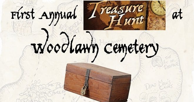 Woodlawn Cemetery Volunteer Treasure Hunt
