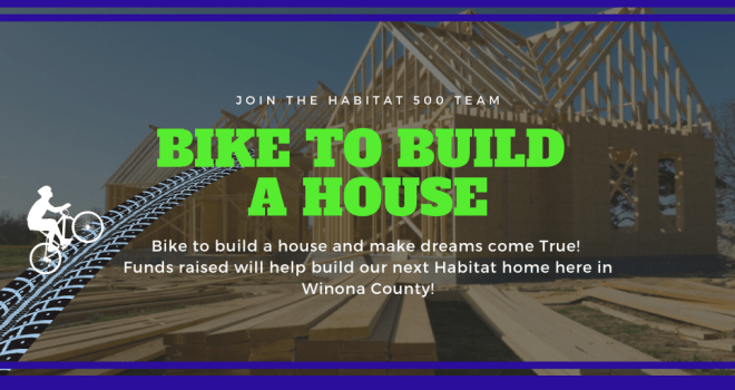 Habitat for Humanity Bike to Build a House