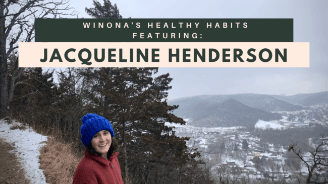 Winona's Healthy Habits featuring Jacqueline Henderson banner